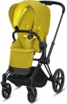 Cybex Priam Combi Matt Black/Black Mustard Yellow/Yellow