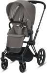 Cybex Priam Combi Matt Black/Black Soho Grey/Mid Grey