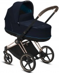 Cybex Priam Combi Rosegold/Rosegold Nautical Blue/Navy Blue