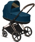 Cybex Priam Combi Rosegold/Rosegold Mountain Blue/Turquoise