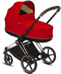 Cybex Priam Combi Rosegold/Rosegold Autumn Gold/Burnt Red