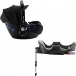 Römer Baby-Safe2 i-Size Cool Flow - Blue inclusief Flex Base