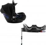 Römer Baby-Safe2 i-Size Cool Flow - Black inclusief Flex Base