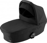 Britax Römer Premium Smile III Reiswieg Space Black Black Handle Black Grip