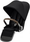 Cybex Gazelle S Extra Seat Unit TPE Deep Black/Black Voor Duo/Twin