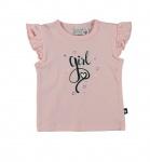 Babylook T-Shirt Korte Mouw Girl Parfait