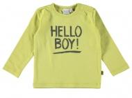 Babylook T-Shirt Boy Wild Lime