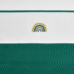 Meyco Laken Rainbow Emerald Green  100 x 150 cm