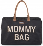 Childhome Mommy Bag Groot Black Gold