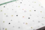 Briljant Ledikantlaken Triangle  100 x 150 cm