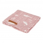 Little Dutch Swaddle Ocean Pink 120 x 120