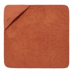 Little Dutch Badcape Pure Rust  75 x 75 cm