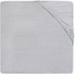 Jollein Wieghoeslaken Jersey            40 x 80/90 cm Soft Grey