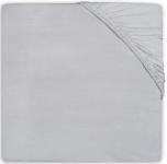 Jollein Ledikanthoeslaken Jersey 60 x 120 cm Soft Grey