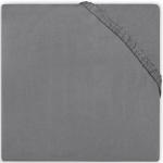 Jollein Ledikanthoeslaken Jersey 60 x 120 cm Dark Grey