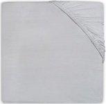 Jollein Wieghoeslaken Badstof  40 x 80/90 cm Soft Grey