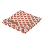 Little Dutch Swaddle Sunrise Rust  120 x 120