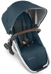 UPPAbaby Rumble Seat Finn Deep Sea/Zilver Frame