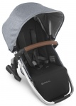 UPPAbaby Rumble Seat Gregory Blauw Melée/Zilver Frame