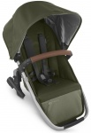 UPPAbaby Rumble Seat Hazel Olive/Zilver Frame