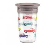 Nuby Tritan 360° Wonder Cup Grijs 300ml 6mnd+
