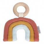 Little Dutch Houten Ring Met Regenboog Pure And Nature