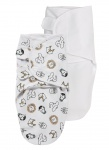 SwaddleMeyco 2-Pack Animal/Uni Wit0-3 Maanden