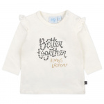 Feetje T-Shirt Better Together Offwhite