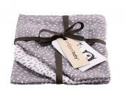 Briljant Washand Minimal Dots Grey 3-Pack