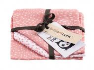 Briljant Washand Minimal Dots Pink 3-Pack