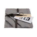 Briljant Monddoek Uni Grey 3-Pack