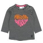 Feetje T-Shirt Awesome Streep Zwart