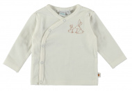 Babylook T-Shirt Overslag Rabbits Snow White