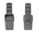 Qtus DuetPro Car Seat Adapter Set Black