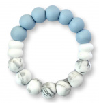 Chewies & More Duo Cool Baby Blue/Marble