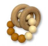 Chewies & More Basic Rattle Honey/Navaho