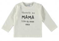 Babylook T-Shirt No Mama Like My Mama White