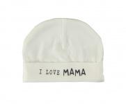 Babylook Muts I Love Mama White