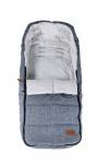 Qute Voetenzak Jeans Lichtblauw