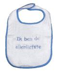 La Petite Couronne Slab Ik Ben De Allerliefste White Blue