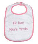 La Petite Couronne Slab Ik Ben Opa's Trots White Pink
