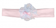 La Petite Couronne Haarband Pink White