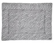 Meyco Boxkleed Zebra Grijs Gebreid 77 x 97 cm