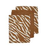 Meyco Washand Zebra Camel 3-Pack