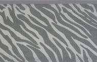 Meyco Wieglaken Zebra Grijs 75 x 100 cm