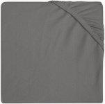 Jollein Wieghoeslaken Jersey   40 x 80/90 cm Storm Grey