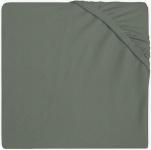 Jollein Hoeslaken Boxmatras Jersey Ash Green 75 x 95 cm