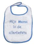 La Petite Couronne Slab Mama Is De Allerliefste White Blue