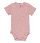 Little Dutch Romper Korte Mouw Pink