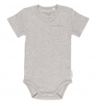Little Dutch Romper Korte Mouw Grey